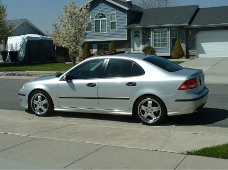 Light Silver Aero with Tinted windows? | SaabCentral Forums