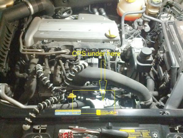 DIY Replacing Crank Position Sensor on 2004 Saab 9-3 2 0T