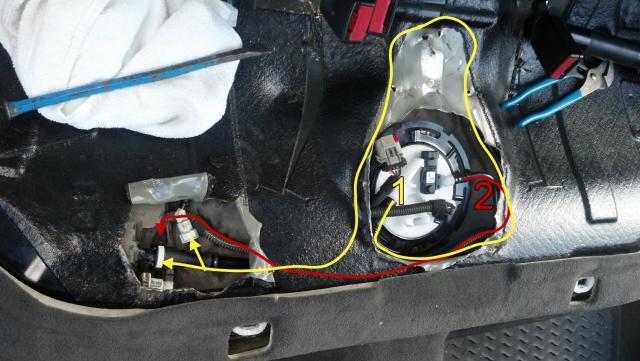 How-to: 2007 Saab 9-3 DIY Fuel Pump Replacement [in progress ...
