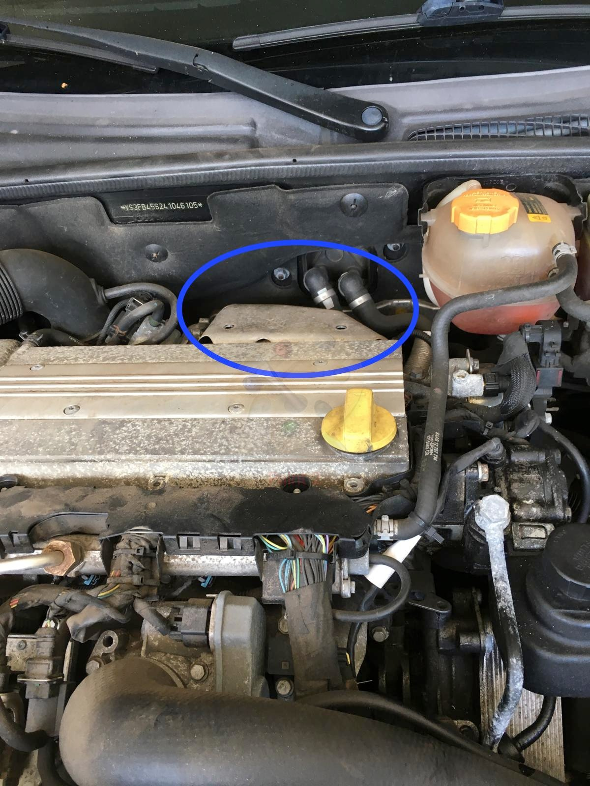 Oil Leak Causing Smell in Cabin | SaabCentral Forums