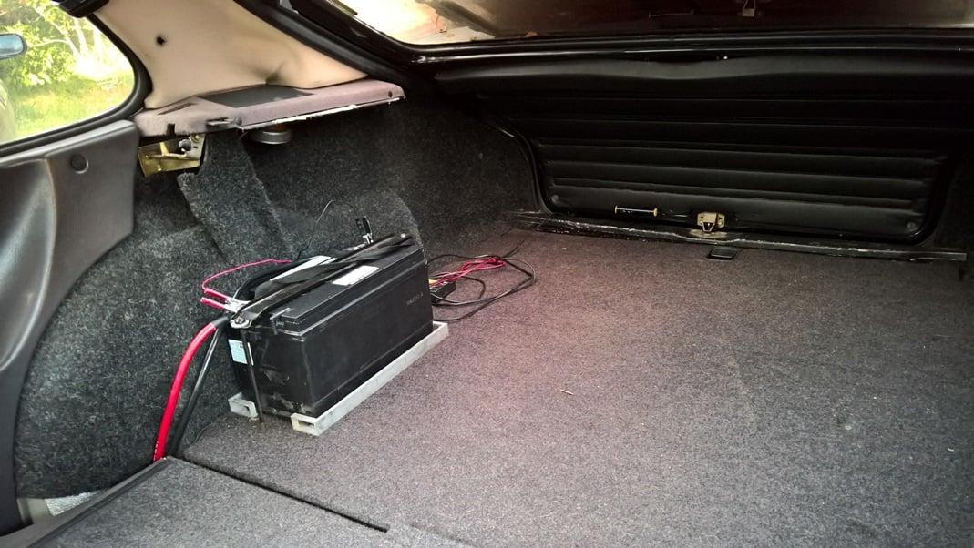 Battery relocation ideas, tips, tutorials, etc