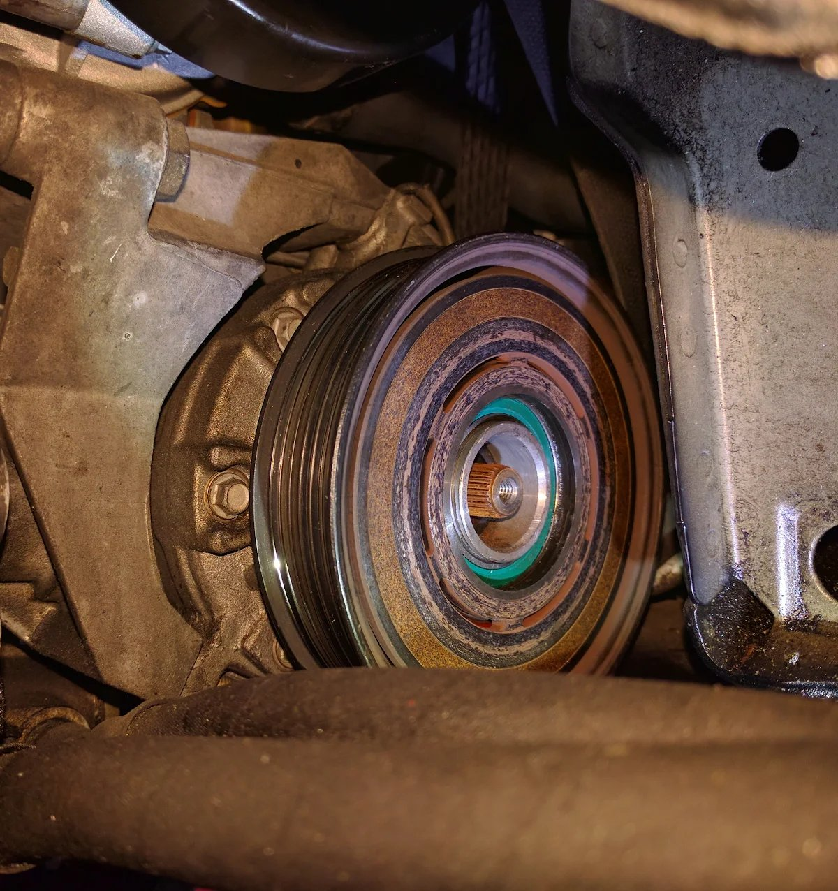 9-5 AC Compressor Bearing replacement   SaabCentral Forums