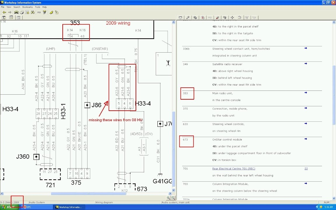 How to Retrofit OEM Bluetooth Functionality into 2007-2008 9 ... Onstar Schematic on
