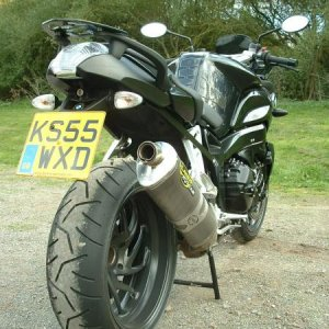A great toy - 170Bhp on 2 wheels certainly blows the cobwebs away!