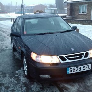 Saab 95 Saloon 2.0t SE 98,000miles Nocturne Blue Marker light upgrade, for indicators. 7 speaker upgrade for AS1, no where near as good as AS2