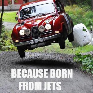 Because born from jets